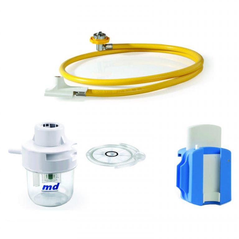 Accessoires pour oxygénothérapie et suction